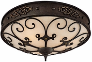 Capital Lighting 2287RI River Crest Traditional Rustic Iron Ceiling Light Fixture