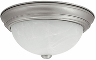 Capital Lighting 2713MN-GU Energy Saver Matte Nickel Fluorescent Ceiling Light Fixture