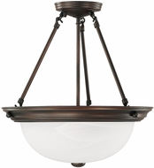 Capital Lighting 2718BB Burnished Bronze Hanging Lamp