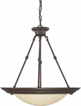 Capital Lighting 2720BB Burnished Bronze Pendant Light Fixture