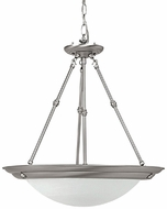 Capital Lighting 2720MN-GU Energy Saver Matte Nickel Fluorescent Hanging Pendant Lighting