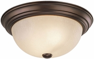 Capital Lighting 2755BB Chapman Burnished Bronze Flush Lighting