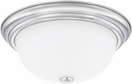 Capital Lighting 2765CH Chrome Flush Mount Light Fixture