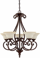 Capital Lighting 3075BB-292 Chandler Burnished Bronze Lighting Chandelier