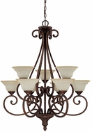 Capital Lighting 3079BB-292 Chandler Burnished Bronze Chandelier Light