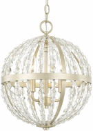 Capital Lighting 310731SF Camille Contemporary Soft Gold 13.5 Lighting Pendant