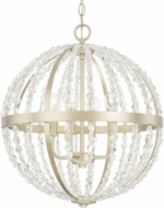 Capital Lighting 310741SF Camille Modern Soft Gold 18.75  Pendant Lamp