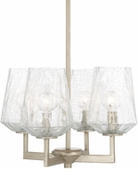 Capital Lighting 311241BS-317 Arden Modern Brushed Silver Mini Chandelier Light