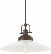 Capital Lighting 311511BB-321 Pendants Burnished Bronze Pendant Light Fixture