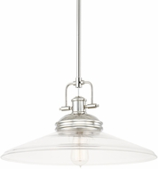 Capital Lighting 311511PN-320 Pendants Polished Nickel Pendant Lighting Fixture