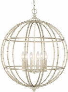 Capital Lighting 311861SF Pendants Modern Soft Gold Hanging Pendant Light