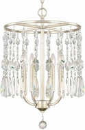 Capital Lighting 312141WG Juliette Contemporary Winter Gold Mini Chandelier Lighting