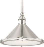 Capital Lighting 312211BN Langley Brushed Nickel 13  Drop Lighting