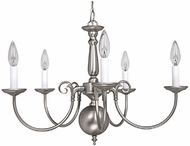 Capital Lighting 3125MN Matte Nickel Chandelier Light