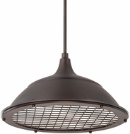 Capital Lighting 312811BB Pendants Burnished Bronze Drop Lighting Fixture