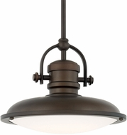 Capital Lighting 317311BB-LD Pendants Burnished Bronze LED Mini Hanging Light