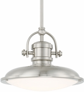 Capital Lighting 317311BN-LD Pendants Brushed Nickel LED Mini Pendant Light Fixture