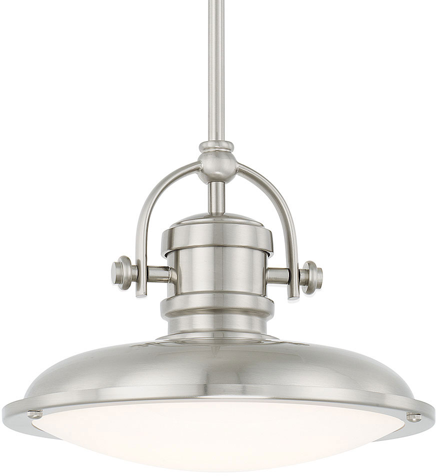 capital lighting 317311bnld pendants brushed nickel led mini pendant light fixture loading zoom