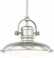 Capital Lighting 317311PN-LD Pendants Polished Nickel LED Mini Pendant Lighting Fixture