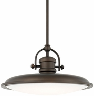 Capital Lighting 317312BB-LD Pendants Burnished Bronze LED Hanging Pendant Lighting