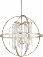 Capital Lighting 3184WG-CR Carrington Winter Gold Drop Ceiling Light Fixture