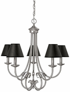 Capital Lighting 3225MN-427 Hometown Matte Nickel Chandelier Light