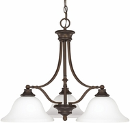 Capital Lighting 3413BB-237 Belmont Burnished Bronze Chandelier Lamp