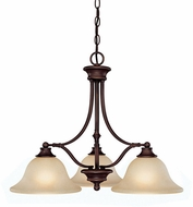 Capital Lighting 3413BB-259 Belmont Burnished Bronze Chandelier Light