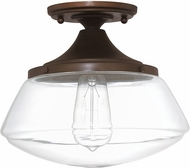 Capital Lighting 3537BB-134 Burnished Bronze Flush Mount Lighting