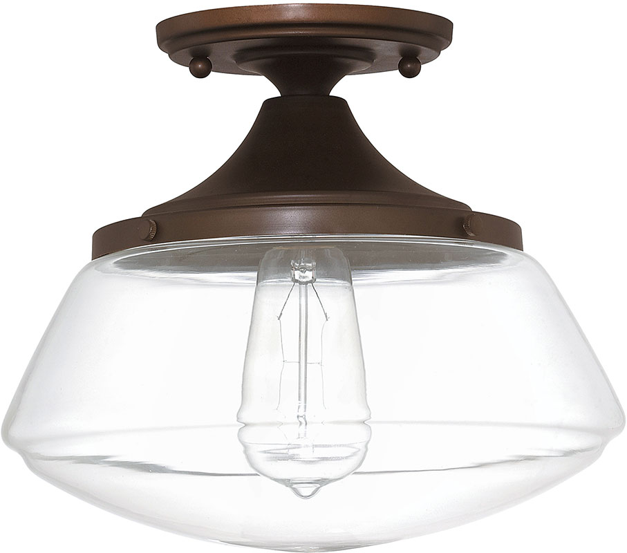 Capital lighting 3537bb 134 burnished bronze flush mount lighting loading zoom