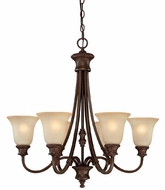 Capital Lighting 3566BB-252 Hill House Burnished Bronze Lighting Chandelier