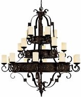 Capital Lighting 3600RI-125 River Crest Traditional Rustic Iron Chandelier Lighting