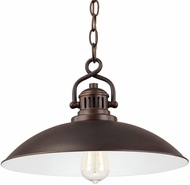 Capital Lighting 3798BB ONeill Vintage Burnished Bronze Ceiling Pendant Light
