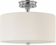 Capital Lighting 3874PN-496 Studio Polished Nickel Semi-Flush Home Ceiling Lighting