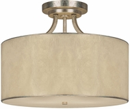 Capital Lighting 3933WG-476 Luna Winter Gold Semi-Flush Ceiling Light Fixture