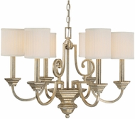 Capital Lighting 4006WG-484 Fifth Avenue Winter Gold Ceiling Chandelier