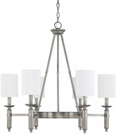 Capital Lighting 4046AN-489 Covington Antique Nickel Chandelier Lamp
