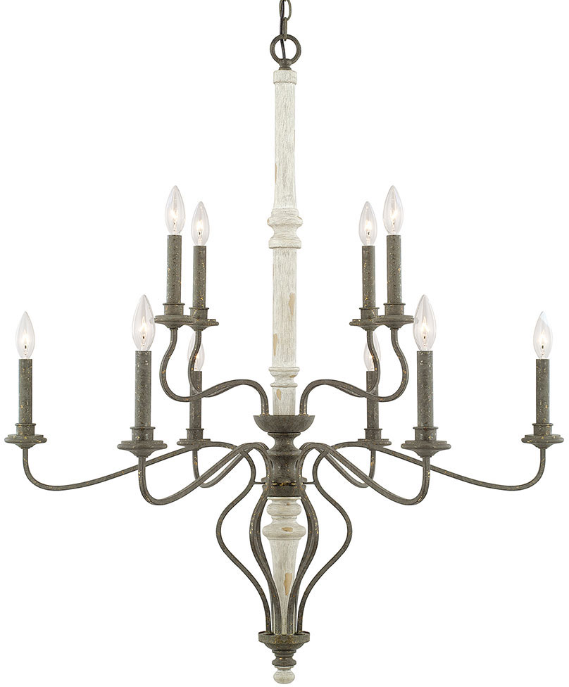 Capital Lighting 410301FC Nora Traditional French Country Chandelier ...