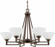 Capital Lighting 411361RS-318 Avalon Russet Chandelier Lighting