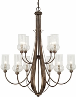 Capital Lighting 411601RT-322 Rowan Rustic Lighting Chandelier