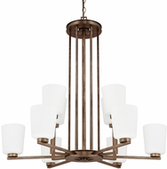 Capital Lighting 412001RT-323 Reid Rustic Lighting Chandelier