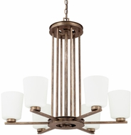 Capital Lighting 412061RT-323 Reid Rustic Chandelier Lamp