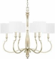 Capital Lighting 412661WG-654 Noelle Winter Gold Chandelier Light