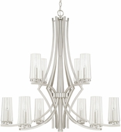 Capital Lighting 413501BN-326 Stella Modern Brushed Nickel Hanging Chandelier