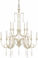 Capital Lighting 413601WG Cambridge Winter Gold Lighting Chandelier