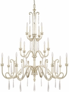 Capital Lighting 413602WG Cambridge Winter Gold Chandelier Lamp