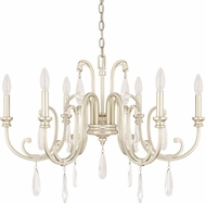 Capital Lighting 413661WG Cambridge Winter Gold Chandelier Light