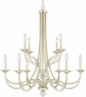Capital Lighting 413801SF Windsor Contemporary Soft Gold Chandelier Light