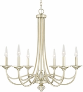 Capital Lighting 413861SF Windsor Modern Soft Gold Chandelier Lighting