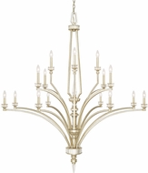 Capital Lighting 415002WG Olivia Winter Gold Hanging Chandelier
